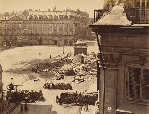 La Colonne Vendôme à terre - 16 mai 1871